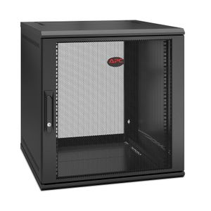 APC NetShelter WX 12U Single Hinged Wall-mount Enclosure,  Mounting Depth 600mm (AR112SH6)