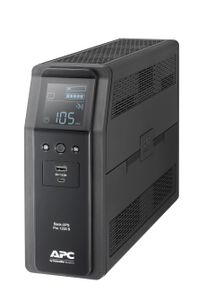 APC Back UPS Pro BR 1200VA, Sinewave, 8 Outlets, AVR, LCD interface (BR1200SI)