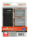 JUPIO Canon Kit: 2x Battery LP-E8 1120mAh + USB Single Charger  Compat