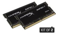 HyperX Impact 64GB DDR4 SODIMM 2400MHz, CL15 (Kit of 2) (HX424S15IBK2/64)