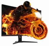 AOC Monitor Gaming CQ32G1 31,5'', panel PVA Curved, QHD, 144Hz, 1ms, HDMI/DP (CQ32G1)