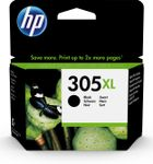 HP 305XL High Yield Black Original Ink Cartridge (3YM62AE#UUS)
