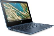 HP ChromeBook x360 11 EE G3 / UMA CeleroN4020 4GB 32GB x360 11 / 11.6 HD BV UWVA 220 Touch / Chrome64 / 1yw / 5MP SnglMic Webcam / Dusk Blue   Imagepad  for 2nd Camera / Intel 9560 AC 2x2 MU-MIMO nvP +BT (9TX96EA#UUW)