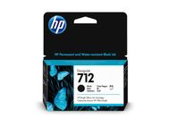 HP 712 38-ml Black DesignJet Ink Cartridge (3ED70A)