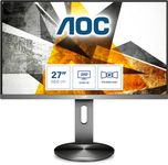 "AOC Q2790PQE / 27"", 2560x1440,  IPS, 4 ms GtG, HAS, DP/ HDMI/ VGA,  USB HUB, Speakers, VESA, NARROW BEZEL (Q2790PQE)"