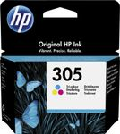 HP 305 Tri-color Original Ink Cartridge (3YM60AE#UUS)