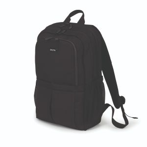 DICOTA Eco Backpack SCALE 15-17.3inch black recycled PET device max. 420x295x40 mm (D31696)