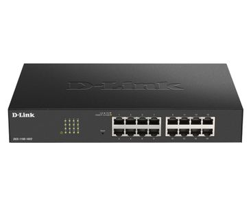 D-LINK Easy Smart 16 ports Gigabit Switch (DGS-1100-16V2)