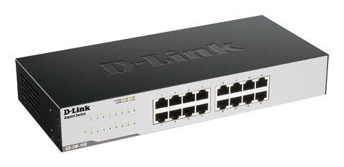 D-LINK GIGABIT Easy Desktop Switch 16p (GO-SW-16G/E)