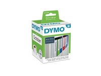 DYMO Lever Arch Labels - 190mm x 59mm / 110 Labels (S0722480)