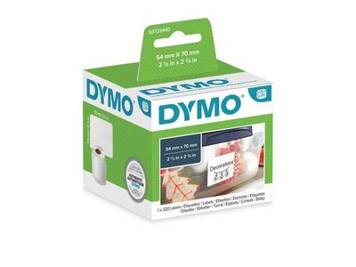 DYMO Disc Label 54X70 White (S0722440)