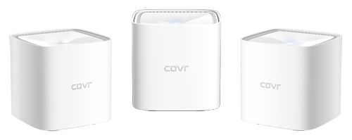 D-LINK AC1200 Dual Band Whole Home Mesh Wi-Fi System(3-Pack) (COVR-1103/E)