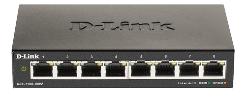 D-LINK 8-Port Gigabit Smart Managed (DGS-1100-08V2/E)