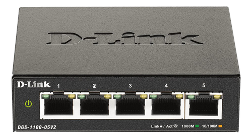 D-LINK 5-Port Gigabit Smart Managed (DGS-1100-05V2/E)