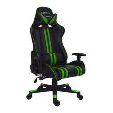 GamerStol Elite Black/ Green
