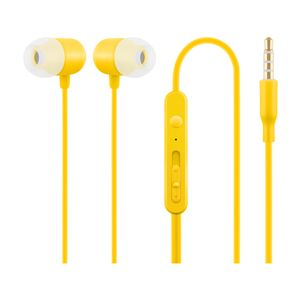 ACME HE21Y In Ear Headphones with Microphone Yellow (253120 YELLOW)