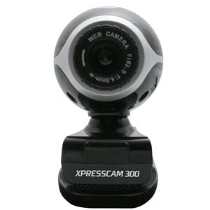 NGS XPRESSCAM300 300K Webcambuilt in microphone (NGS-WEBCAM-0041)