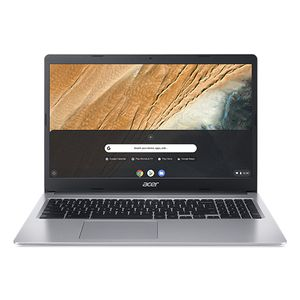 ACER Chromebook 315 CB315-3H-C1PD N4000 15.6inch HD ComfyView LCD 4GB 64GB eMMC Pure Silver Chrome OS (WU)(RDKK) (NX.HKBED.002)