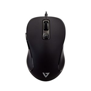 VIDEO SEVEN PRO USB 6-BUTTON WIRED MOUSE FRONT/ BACK BUTTON/ ADJUSTABLE DPI PERP (MU300)