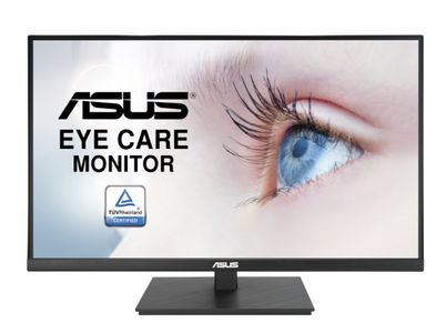 "ASUS LCD ASUS 27"""" VA27AQSB 2560x1440p IPS 75Hz Adaptive-Sync Low Blue Light Flicker Free (90LM06G0-B01170)"