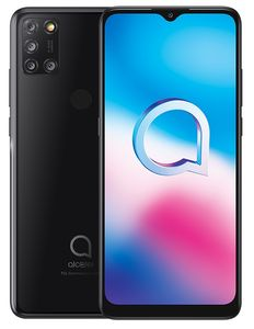 ALCATEL 3X 2020 6.5IN BLACK 64GB+4GB ANDROID 10              IN SMD (5061K-2AALWE12)