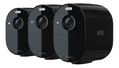 ARLO Essential Spotlight Camera Blck 3Pk (VMC2330B-100EUS)