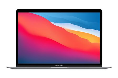 "APPLE MacBook Air M1 chip (2020), 13.3"" with 8-core CPU and 8-core GPU, 512GB - Silver (MGNA3DK/A)"
