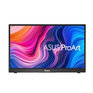 """ASUS LCD ASUS 14"""""""" ProArt PA148CTV Portable Professional USB-C Monitor 1920x1080p IPS 100% sRGB 10p Touch (90LM06E0-B01170)"""