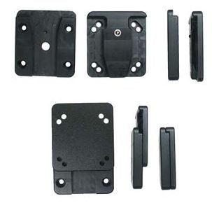 BRODIT Device mounting adap. AMPS holes - qty 1 - Device mounting adapt. AMPS stan. holes (215053)