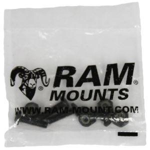 RAM MOUNT HARDWARE PACK METAL BASE 4 QTY HARDWARE (RAM-HAR-MET-TAB1U)