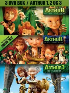 - UNKNOWN - Arthur 1+2+3 Box -DVD (12716-19D0)