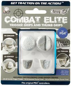 - UNKNOWN - Trigger Treadz: Combat Elite Thumb & Trigger Grips Pack - Urban Camo (PS4) (1083707)