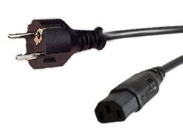 - UNKNOWN - EURO Power Cable for Xbox 360 Slim (KETTLE LEAD) (32176)
