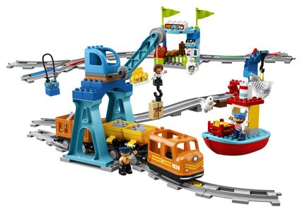 - UNKNOWN - LEGO DUPLO - Cargo Train (10875) (10875)