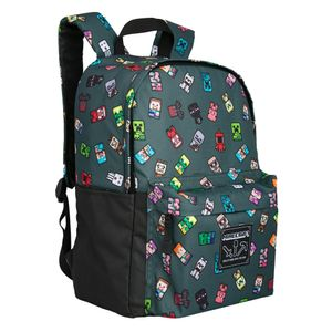 - UNKNOWN - Minecraft 17 Bobble Mobs Backpack (806571)