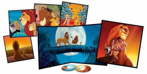 - UNKNOWN - Disney's The lion king - Blu ray -(Big sleeve edt) (1129362)