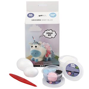 - UNKNOWN - DIY Kit - Funny Friends - Unicorn - Baby Blue (100751) (100751)