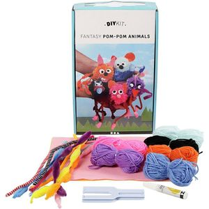 - UNKNOWN - DIY Kit - Funny Friends - Pom-Pom Animals (97042) (97042)