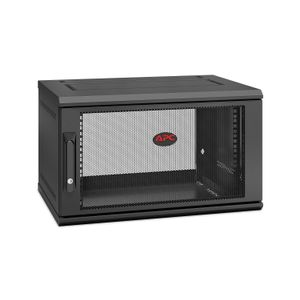 APC NETSHELTER WX 6U SINGLE HINGED WALL-MOUNT ENCLOSURE 400MM DEEP ACCS (AR106SH4)