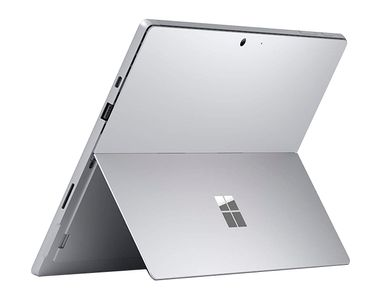 "MICROSOFT Surface Pro 7 12,3"" touch Platinum Core i5-1035G4,  16GB RAM, 256GB SSD, uten Type cover, Windows 10 Home (PUW-00004)"
