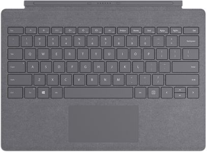 MICROSOFT Surface Signature Type Cover, Ice Blue Nordisk tastatur for Surface Pro 5, Pro 6, Pro 7 (FFP-00129)
