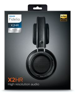 PHILIPS X2HR/00 Hi-Res Over-ear Headphones 50 mm neodymiumelementer,  akustisk design og lagdelte bevegelseskontrollmembran (X2HR/00)