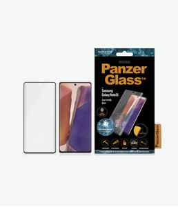 PanzerGlass Skjermbeskytter til Galaxy Note 20 Case Friendly, heldekkende,  sort ramme (7236)