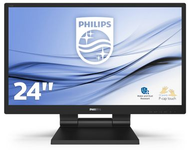 """PHILIPS 242B9T/00 24"""" Touch Monitor 10 points (242B9T/00)"""