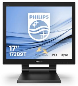 PHILIPS Monitor Philips 172B9T/00 17'', DP/ HDMI/ DVI,  10 touch points (172B9T/00)