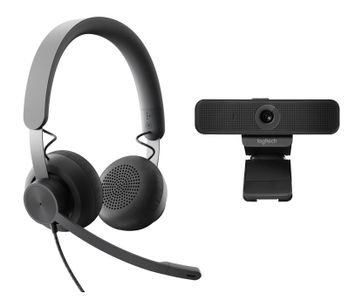 LOGITECH WIRED PERSONAL VC TEAMS KIT GRAPHITE USB PLUGA EMEA TEAMS    IN ACCS (991-000338)