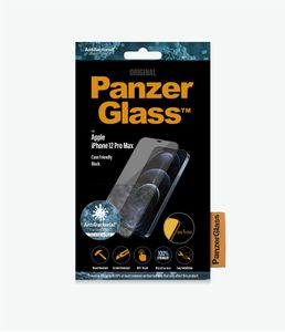 PanzerGlass iPhone 12 Pro Max (CF), Black (AB) (2712)