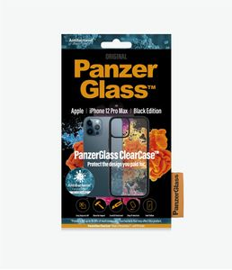 PanzerGlass ClearCase with BlackFrame for New Apple iPhone 6.7in (0253)