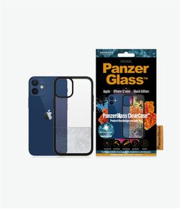 PanzerGlass ClearCase with BlackFrame for New Apple iPhone 5.4in (0251)
