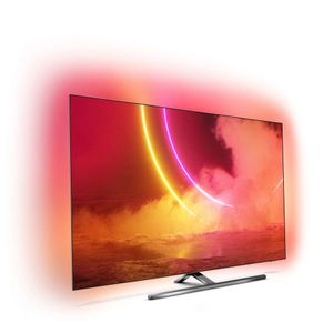 "PHILIPS 55"" UHD OLED Smart TV 55OLED855 (2020) OLED, Ambilight,  P5 AI, 4K UHD, Android TV, Dolby Vision & Atmos, HDR (55OLED855/12)"